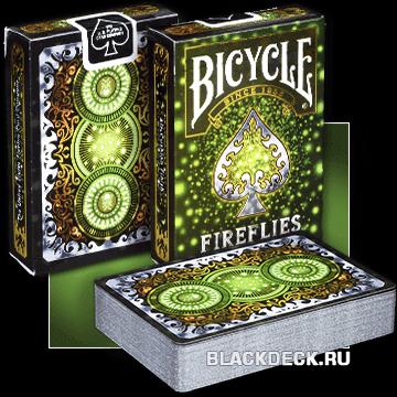 Игральные карты Bicycle Fireflies