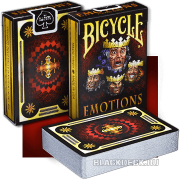 Bicycle Emotions - игральные карты с сильными эмоциями